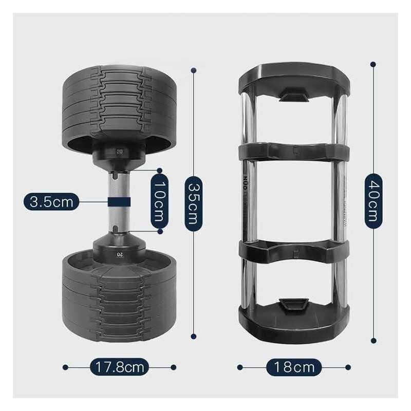 haltère modulable 20 kg