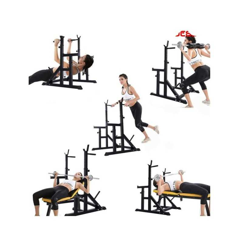 rack musculation multifonction